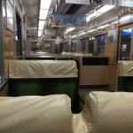 打ち合わせに行く時に利用する阪急電車