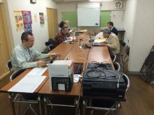 金曜日の夜はJR吹田駅前商店街で勉強会