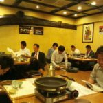 大阪府 府青連の「総務委員会」会合に参加